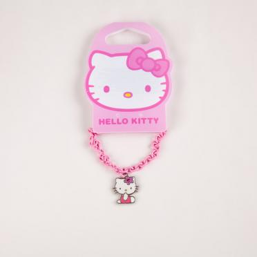 Bratara roz Hello Kitty