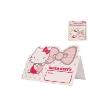 Cartonas petrecere  12buc  Hello Kitty