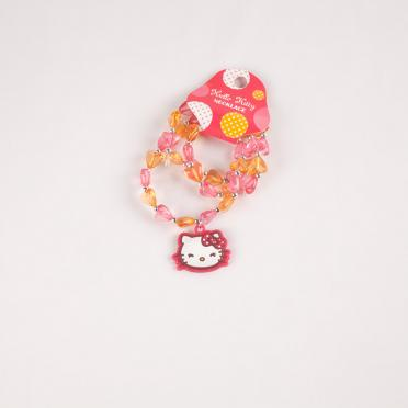 Lantisor cu margele Hello Kitty