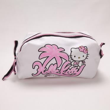 Saculet cosmetice panza Hello Kitty