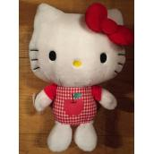MASCOTA PLUS HELLO KITTY ROSU